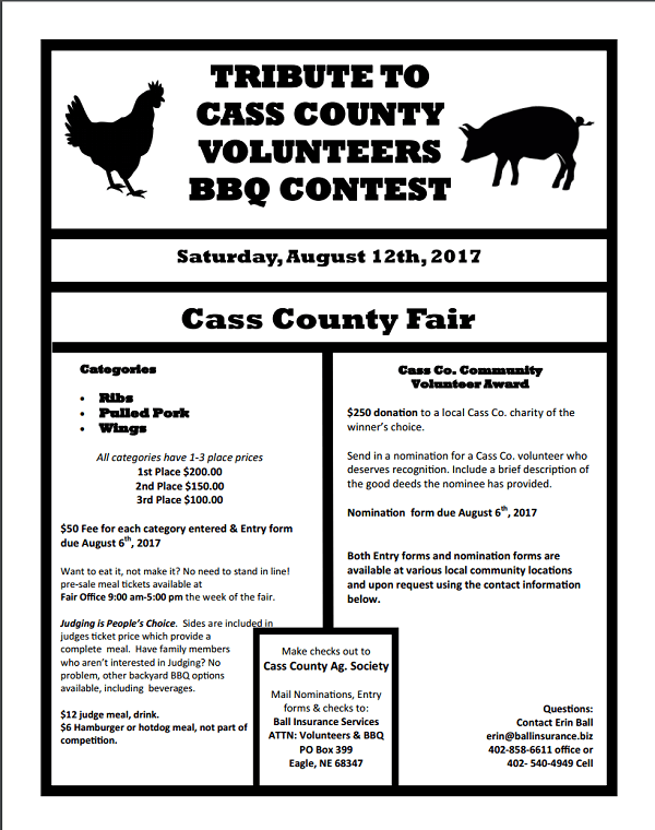 BBQ Contest Flyer