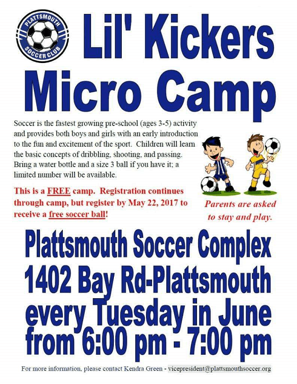 Lil Kickers Micro Camp 1