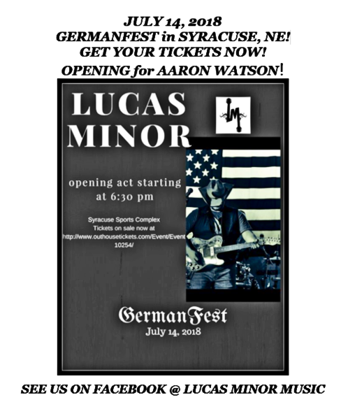 2018 06 06 Lucas Minor Band Syracuse NE 1