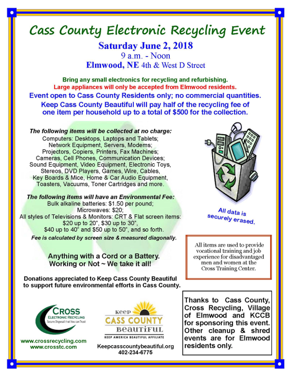 Cass County Recycling Event 0602