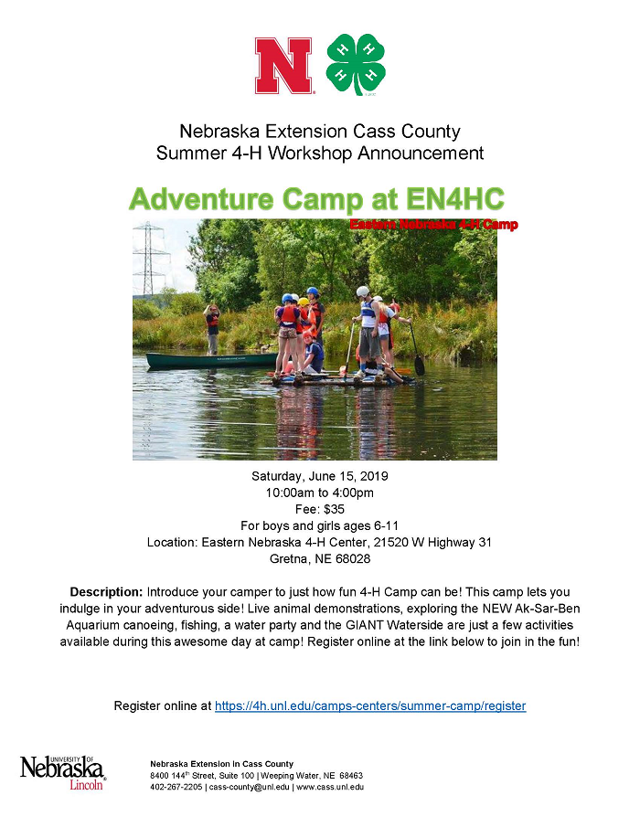2019 Adventure Camp at EN4HC