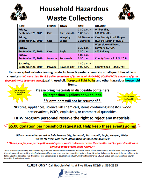 Haz Waste Collection 0920