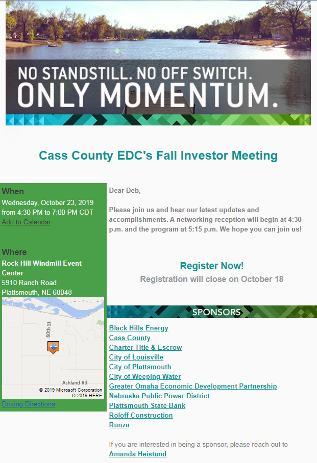 EDC Fall Investor Meeting 1023