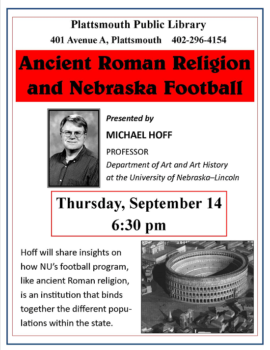 Michael Hoff Ancient Rome and Football