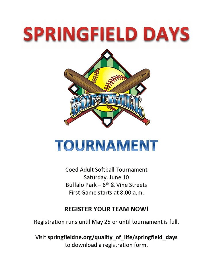Springfield SoftBall Tournament 2017
