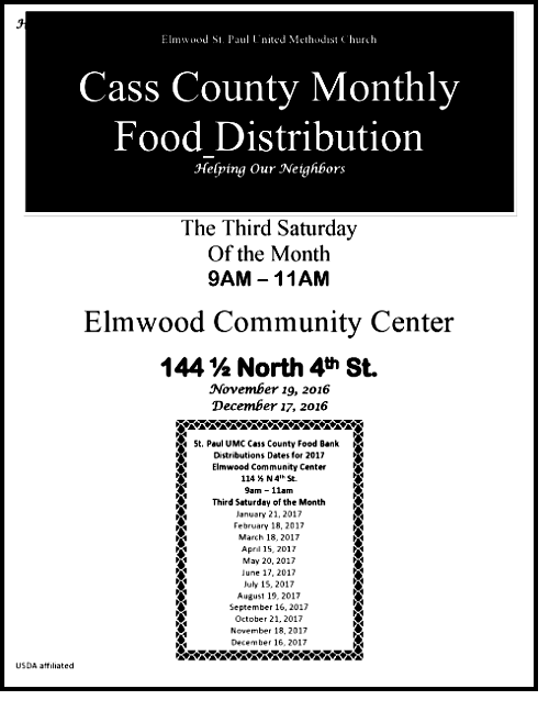 Cass County Food Distribution